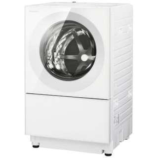 [左開き]ドラム式洗濯乾燥機 (洗濯7.0kg/3.5乾燥kg)「キューブル」 NA-VG740L-W マットホワイト  【洗濯槽自動お掃除・ヒーター乾燥機能付】