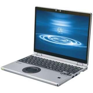 Let's note(レッツノート) QVシリーズ [12.0型 /Office付き /Win10 Pro /intel Core i7 /SSD:256GB /メモリ:16GB /2020年01月モデル] CF-QV8NDMQR シルバー&ブラック