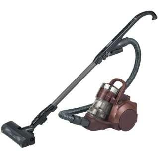 【自走式ブラシ搭載】サイクロン式掃除機「プチサイクロン」 MC-SR580K-T エレガンスブラウン