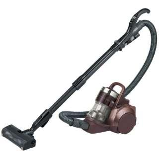 【自走式ブラシ搭載】サイクロン式掃除機「プチサイクロン」 MC-SR38K-T シャイニーブラウン
